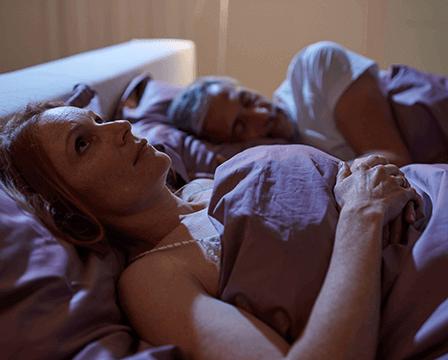 Probleme beim Ein- und Durchschlafen