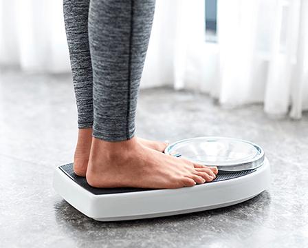 Gewichtszunahme während der Wechseljahre