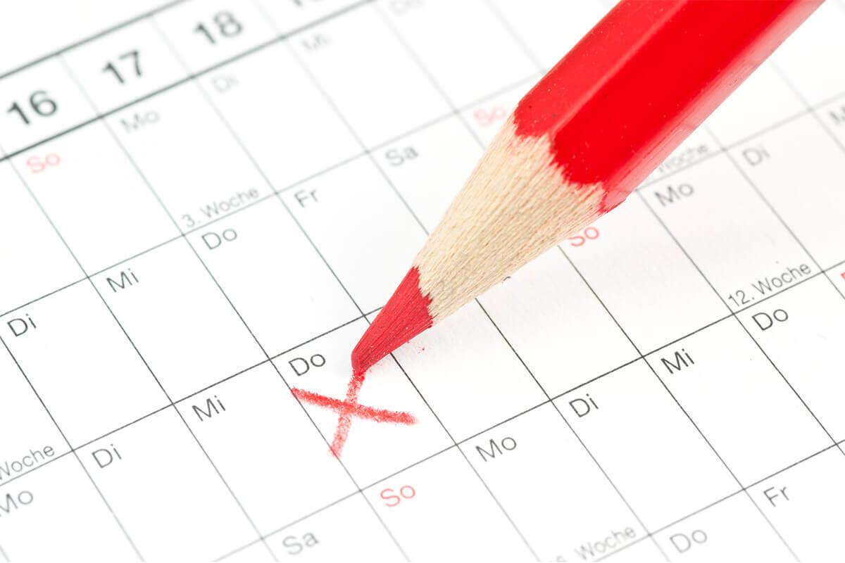 Jahr wechseljahre blutungen nach 1 FAQ: Wann